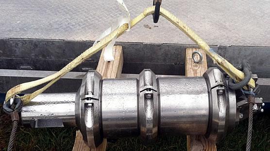 Figure 2: High pressure air-driven water gun.