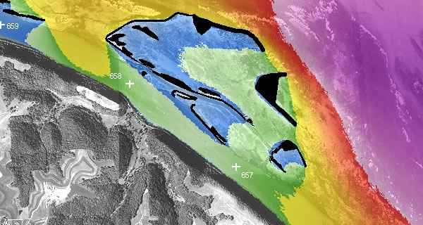 Models have been developed to quantify wind fetch length and physical wave characteristics to quantify differences in island construction designs for three river projects.