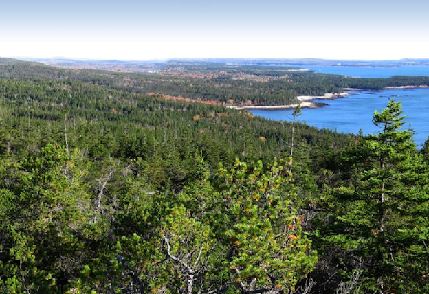 View from Schoodic Head, Acadia National Park (Photograph by Todd M. Edgar, National Park Service)