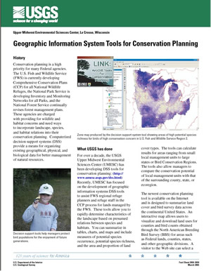 Geographic Information System Tools for Conservation Planning