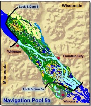 Pool 5a upper mississippi river for Pool 4 mississippi river fishing report