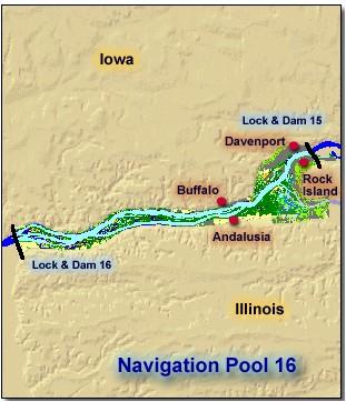 Pool 16  Upper Mississippi River