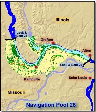 Pool 26  Upper Mississippi River