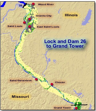 Mississippi+river+locks+and+dams+map