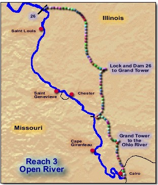 Select a Region  Open River  Upper Mississippi River