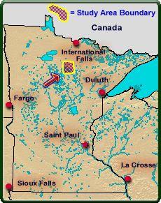 Study Area: Itasca County, Minnesota